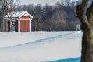 Die Hütte im Schnee!